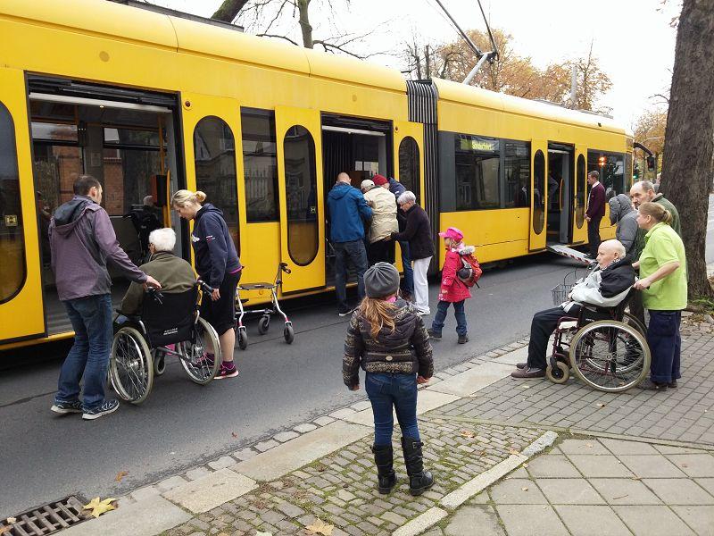 Stadtrundfahrt mit der Straßenbahn am 06.11.2016