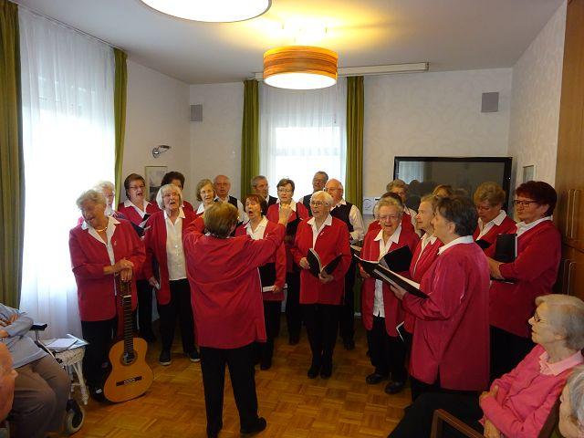 """Frühjahrskonzert mit dem Seniorenchor """"musica74"""" am 03.04.2017"""