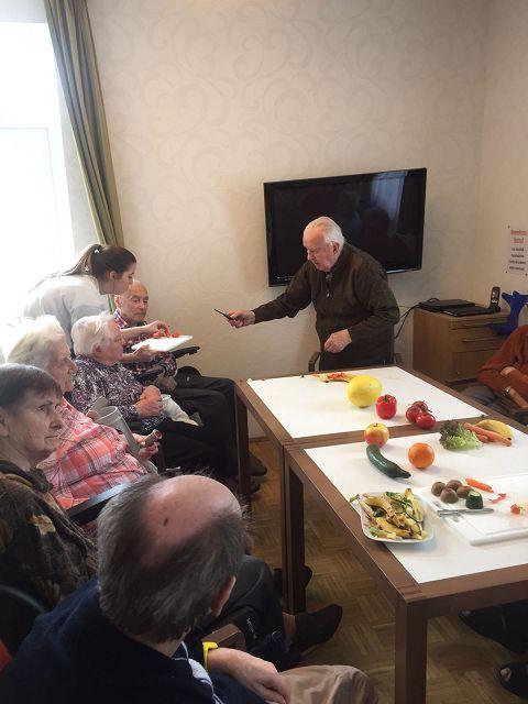 """Morgenrunde zum Thema """"Obst & Gemüse"""" am 17.02.2017"""