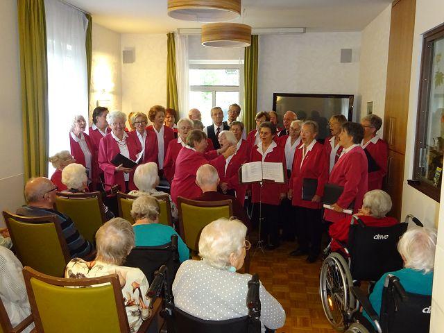"""Herbstkonzert mit dem Seniorenchor """"musica74"""" am 22.09.2017"""