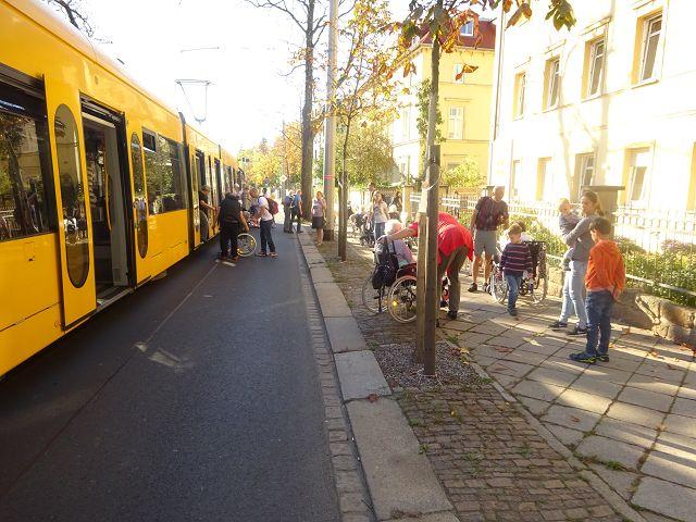 Stadtrundfahrt mit der Straßenbahn am 15.10.2017