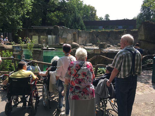 Besuch im Dresdner Zoo am 15.06.2018
