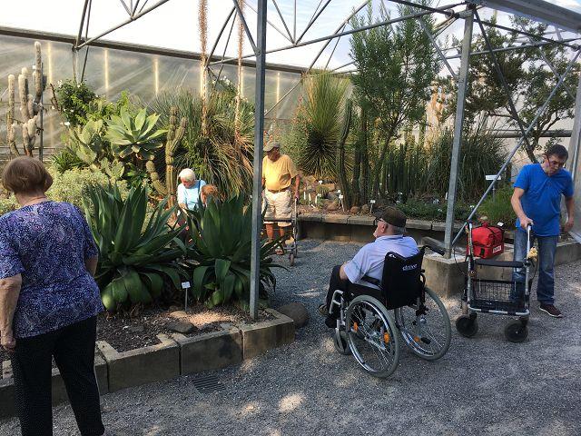 Ausflug in den Botanischen Garten am 19.09.2018