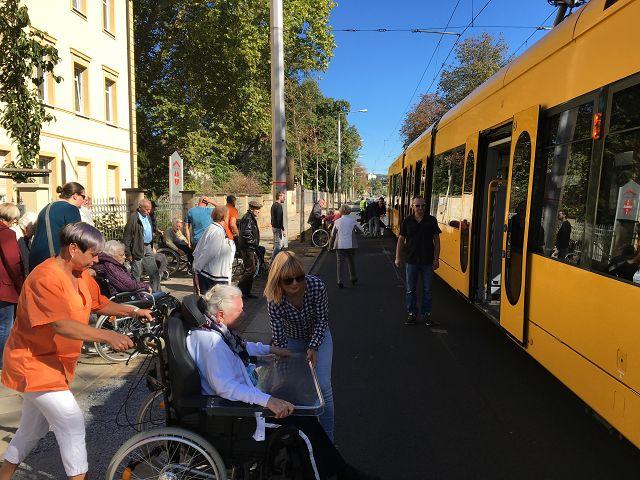 Stadtrundfahrt mit der Straßenbahn am 30.09.2018