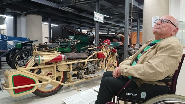 Besuch im Verkehrsmuseum am 05.10.2018