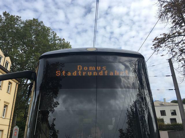 Straßenbahnfahrt am 06.10.2019