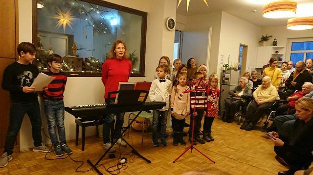 Flötenkinder am 16.12.2019