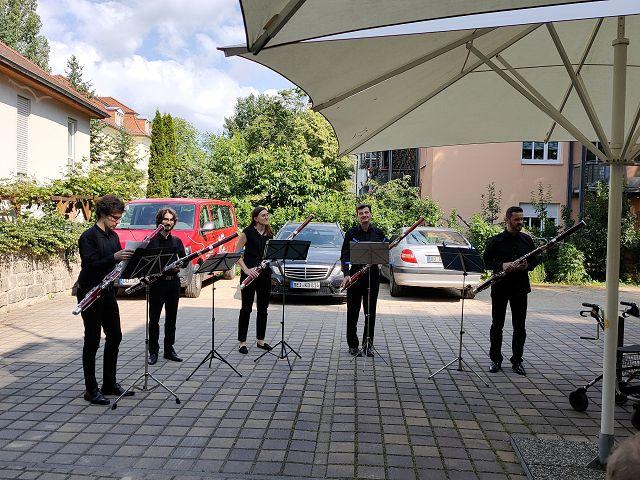 Fagott-Ensemble der Dresdner Philharmonie am 23.06.2020