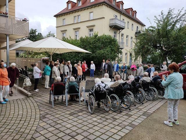 """Open Air-Konzerte des Seniorenchors """"musica74"""" im August und Oktober 2020"""